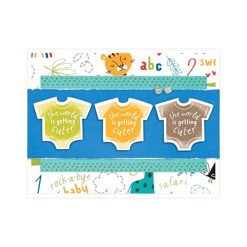 Sweet Safari Cardmaking Workshop Kit
