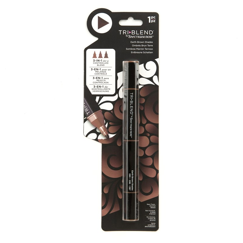 Earth Brown Shades TriBlend™ Marker
