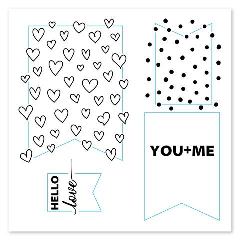 Banner Love (B1572)