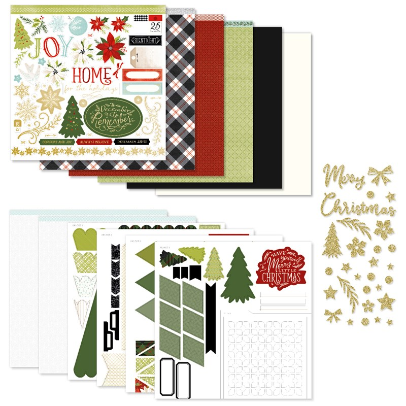Comfort & Joy Scrapbooking Workshop Kit (without Memory Protectors™)