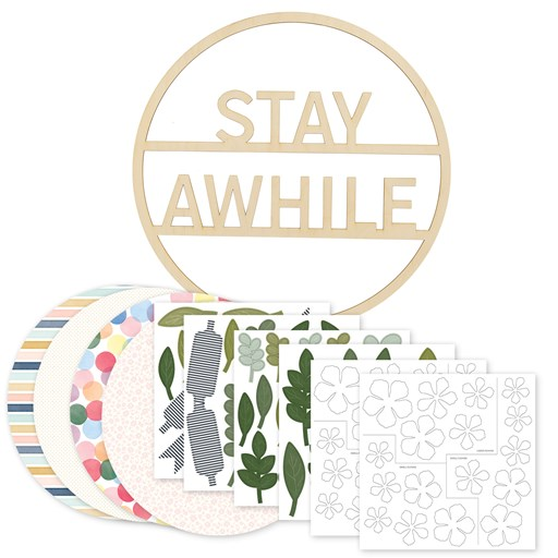Stay Awhile Wreath Kit (CC12019)