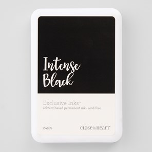 Intense Black Exclusive Inks™ Stamp Pad