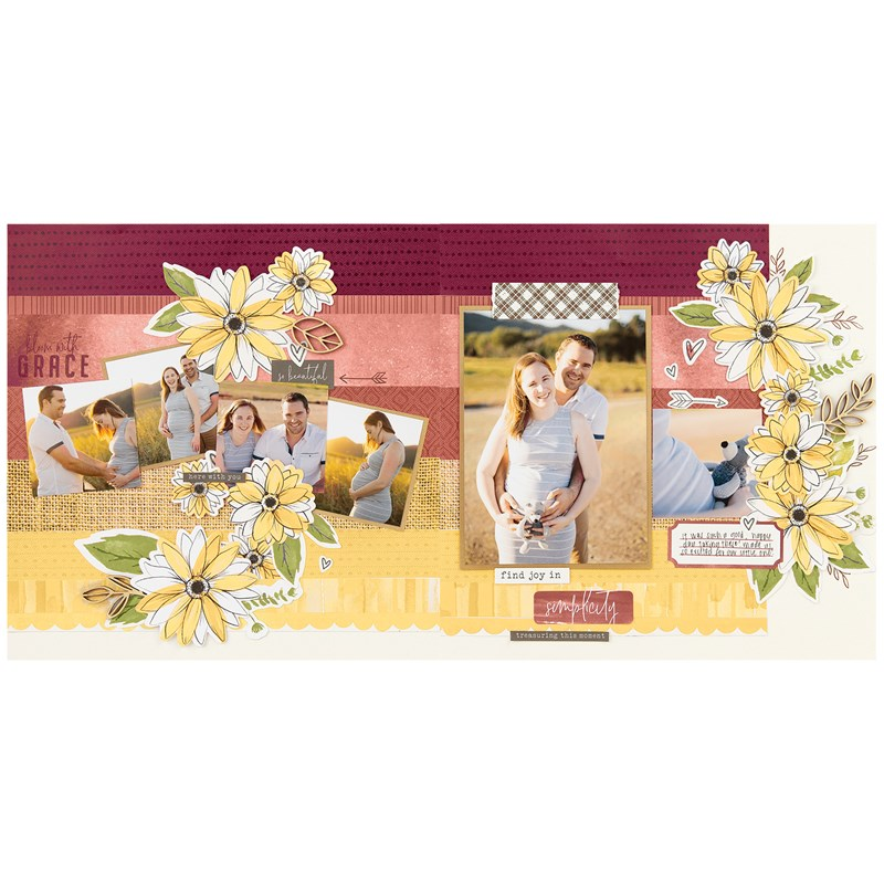Bloom with Grace Scrapbooking Workshop Kit (without Memory Protectors™)