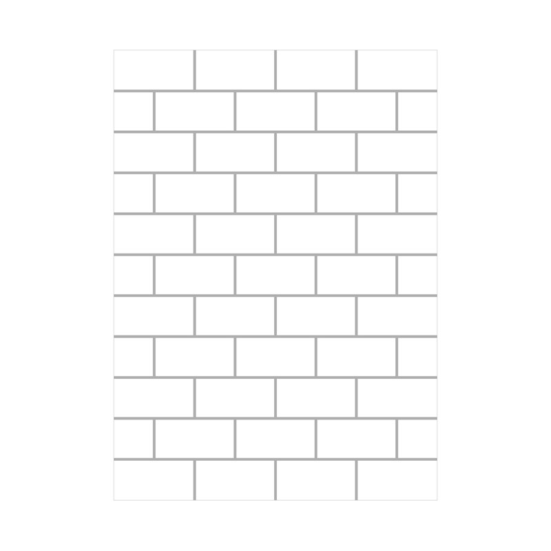 Subway Tile Embossing Folder