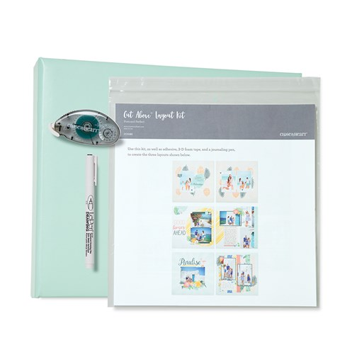 Postcard Perfect D-ring Album Bundle (Sea Glass Album) (CC5188)