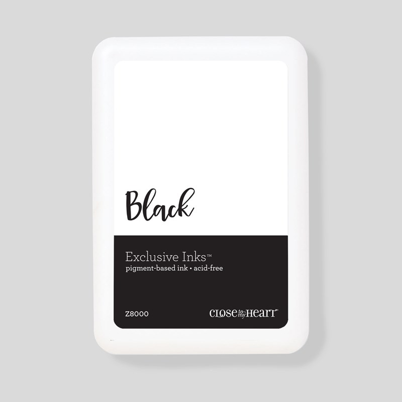 Black Exclusive Inks™ Pigment Pad