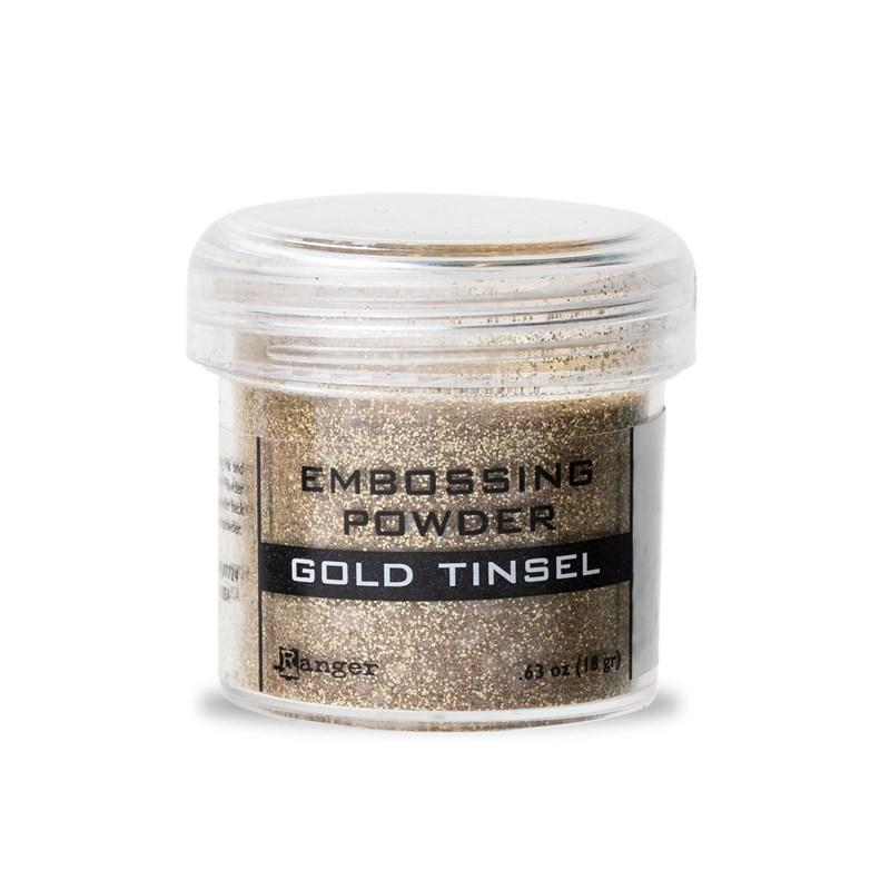 Gold Tinsel Embossing Powder