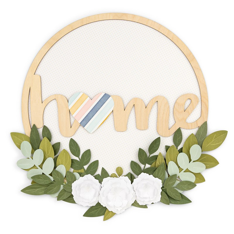 National Scrapbooking Day Wreath Bundle