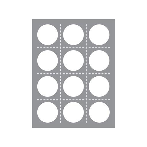 Multi Circle Windows Thin Cuts (Z4021)