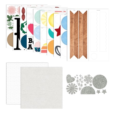 Home Sweet Home Papers & Die-cuts (CC2104)