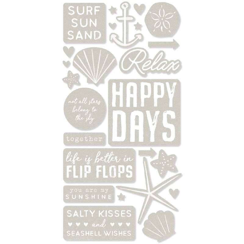 Seas the Day Die-cuts
