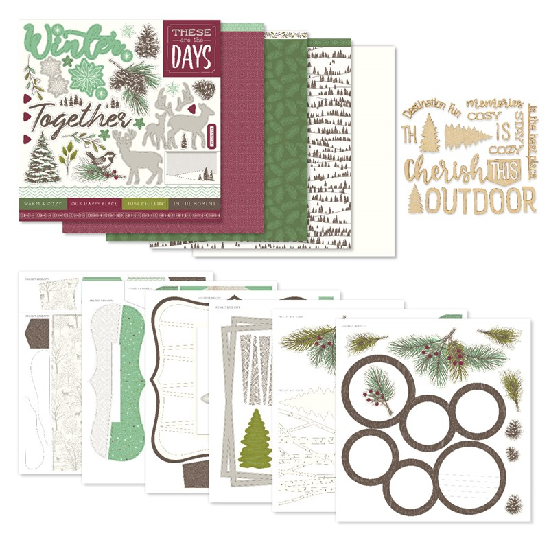 Spruced Up Scrapbooking Workshop Kit without Memory Protectors™