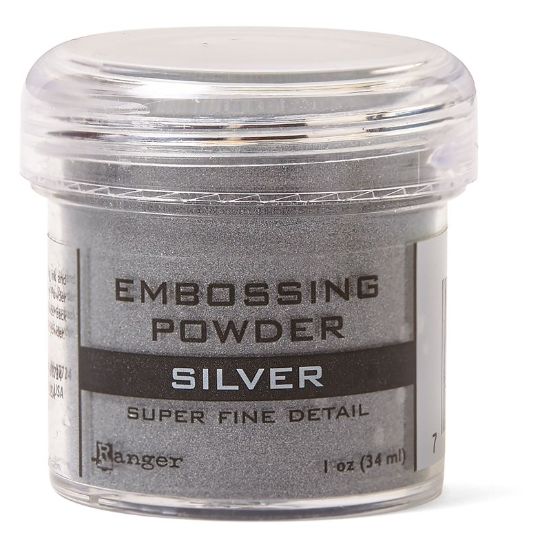 Silver Super Fine Embossing Powder
