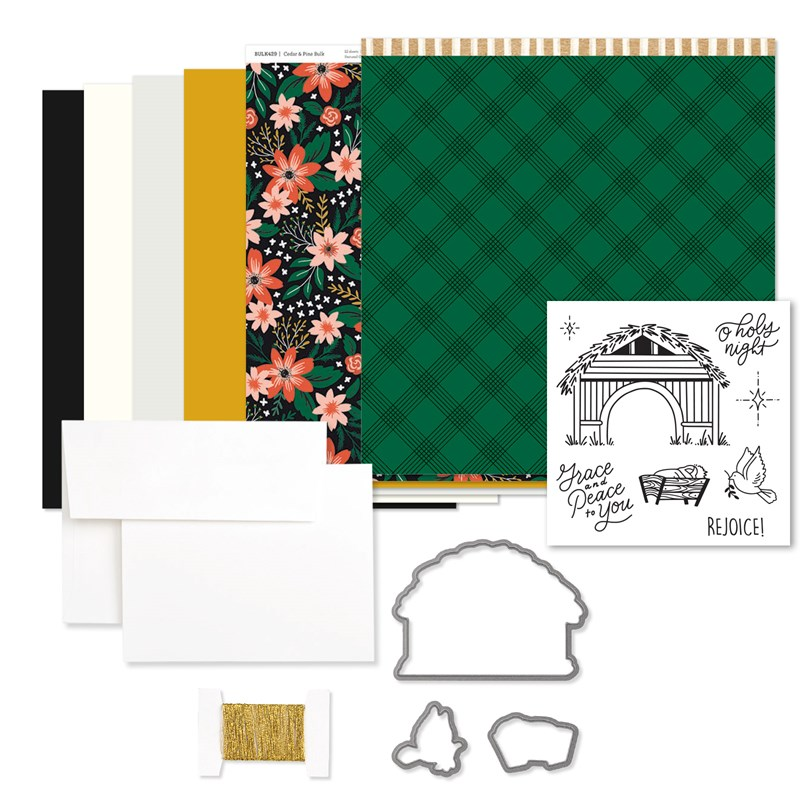 Cedar & Pine Cardmaking Workshop Kit