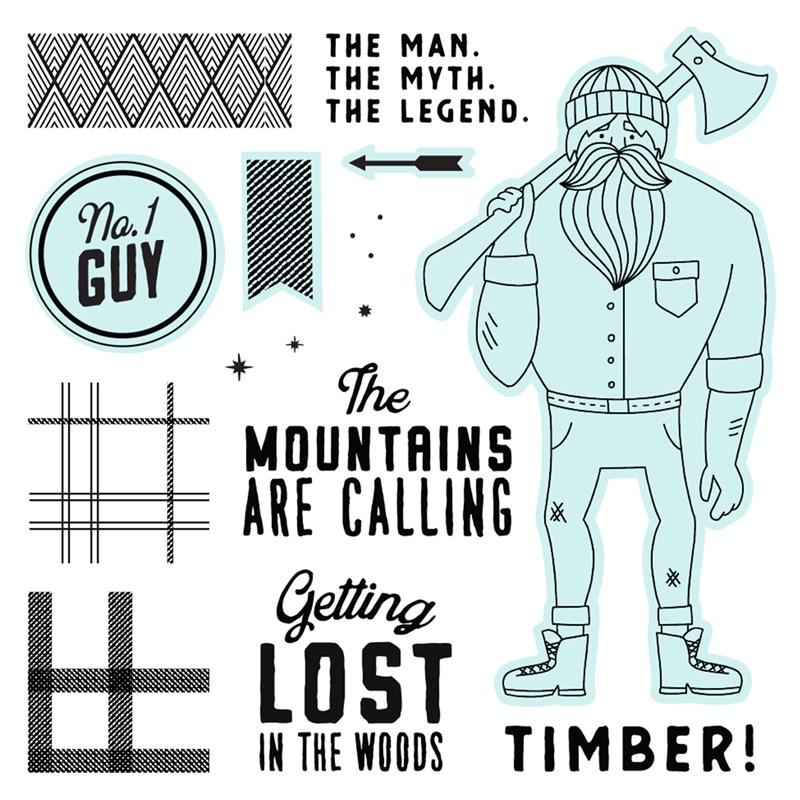 Timber—Scrapbooking