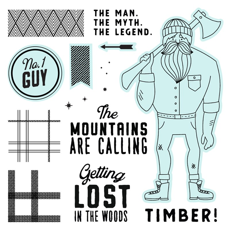 Timber—Scrapbooking