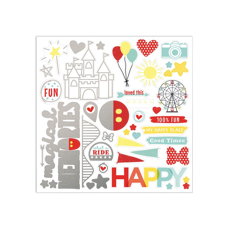 Happiest Place Paper Packet + Sticker Sheet