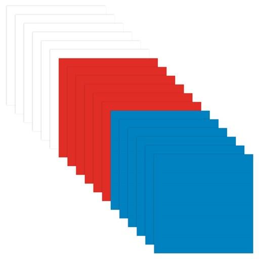 Red, White, & Blue Cardstock Bundle (CC52022)