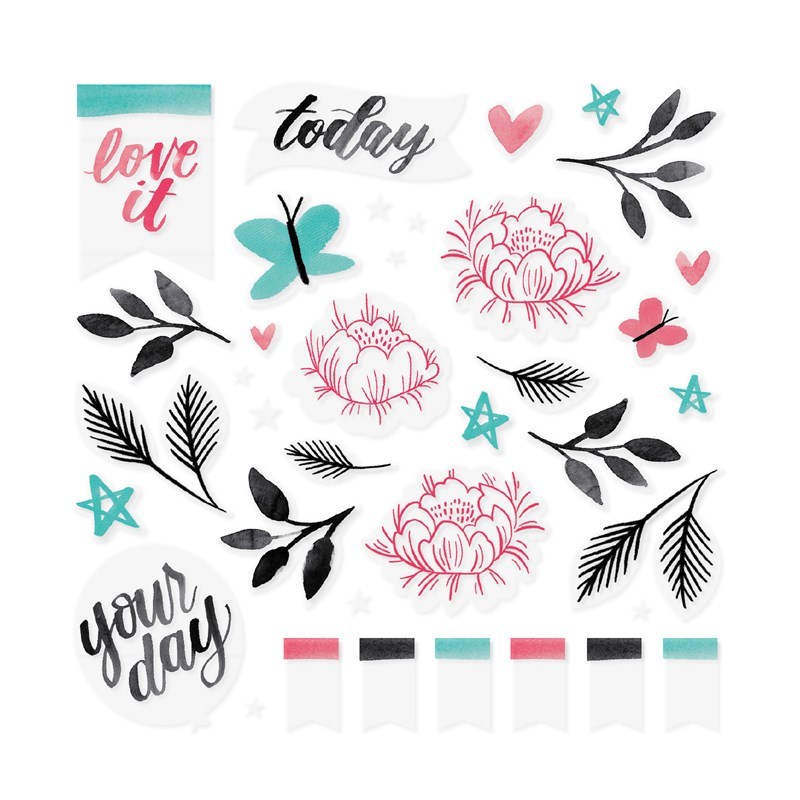 Celebrate Today Vellum Die-cuts