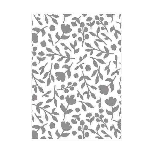 Flower Garden Embossing Folder (Z4056)