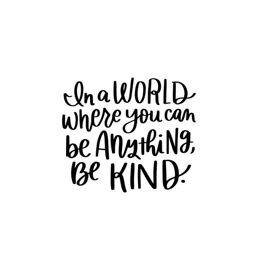 Be Kind (A1249)