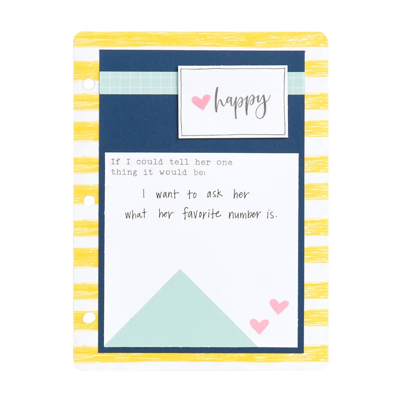 Made with Love Mini Album Workshop Kit (British Spelling stamp set)