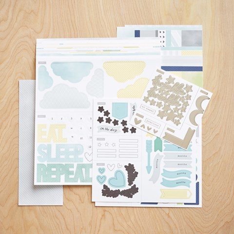 Cut Above® Layout Kit—The Story Begins (Baby Boy) (Z3382)