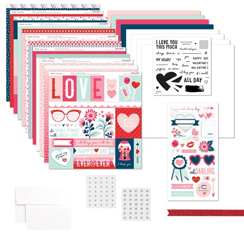 Heart Happy Workshop Kit (with Stamp Set) (CC2196)