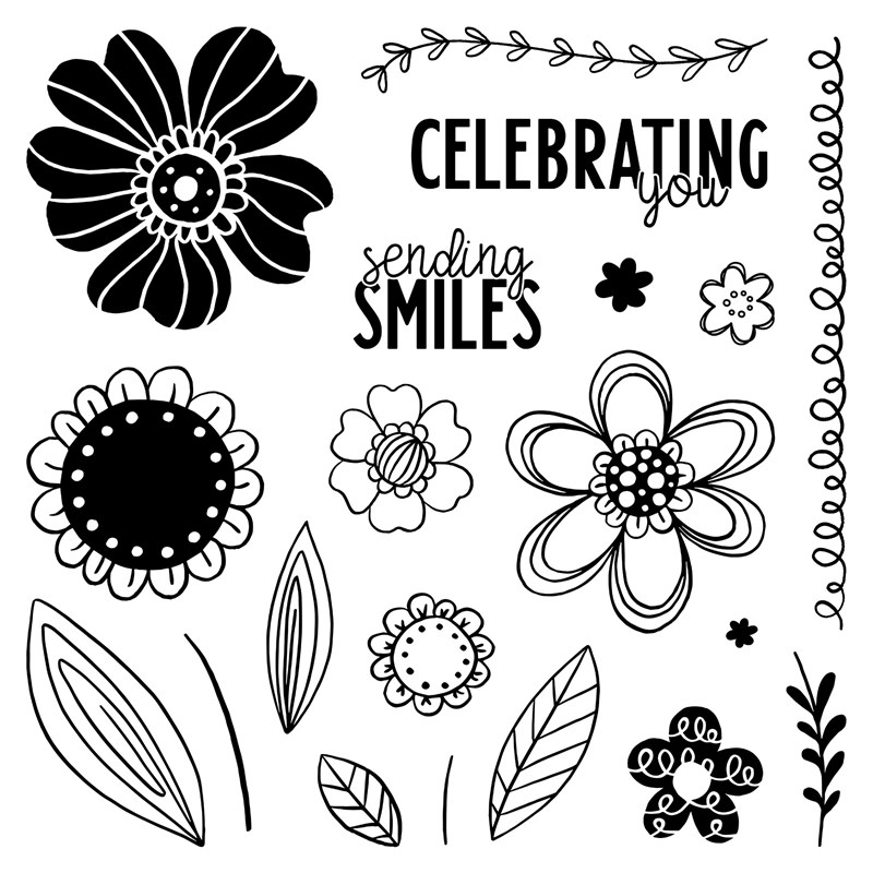 Floral Celebration—August Stamp of the Month