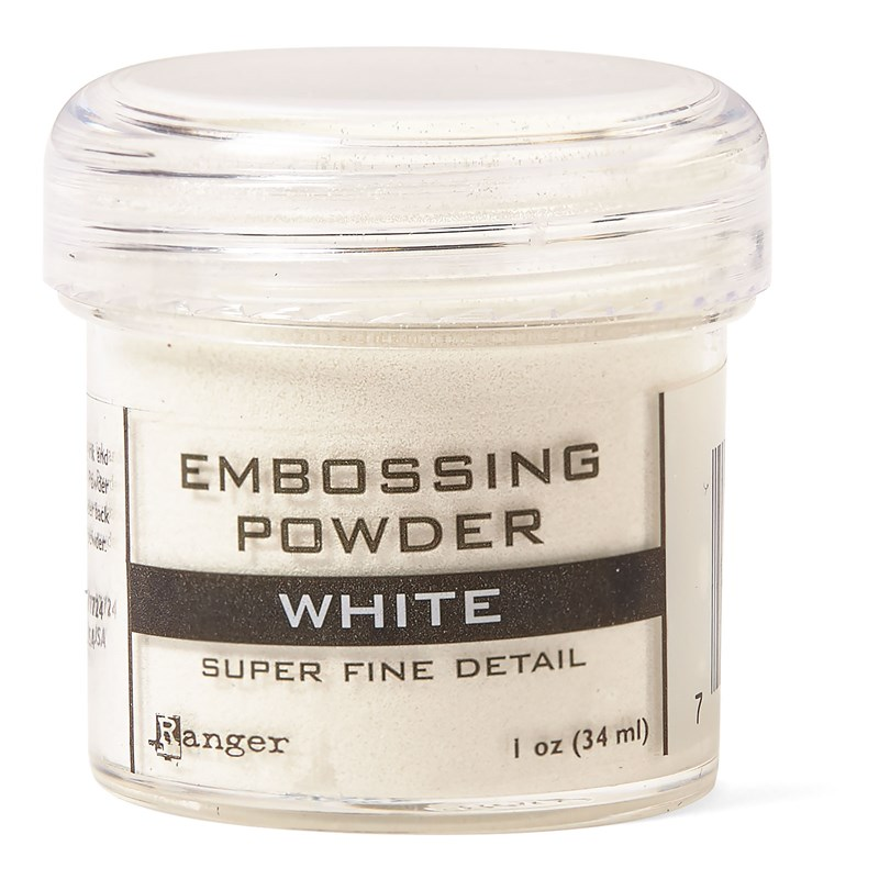 White Super Fine Embossing Powder