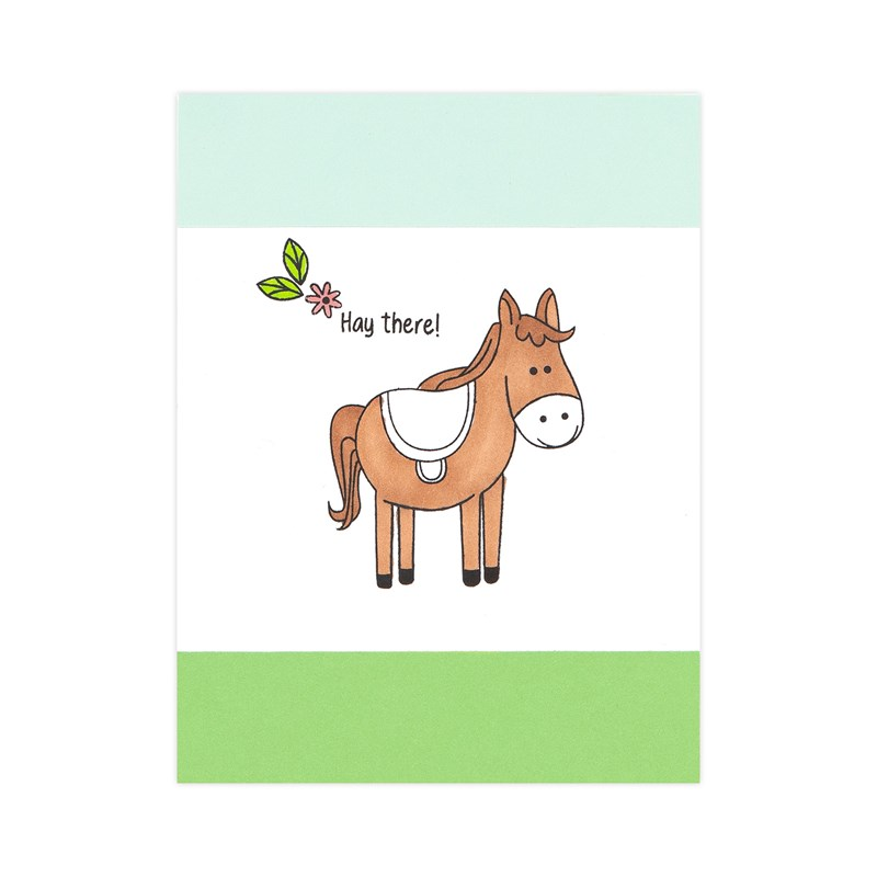 Funny Farm Card Kit (without stamp set)