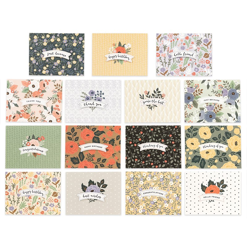 cards created with VIP Flower Shop Card Kit