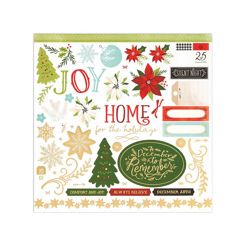 Comfort & Joy Paper Packet + Sticker Sheet
