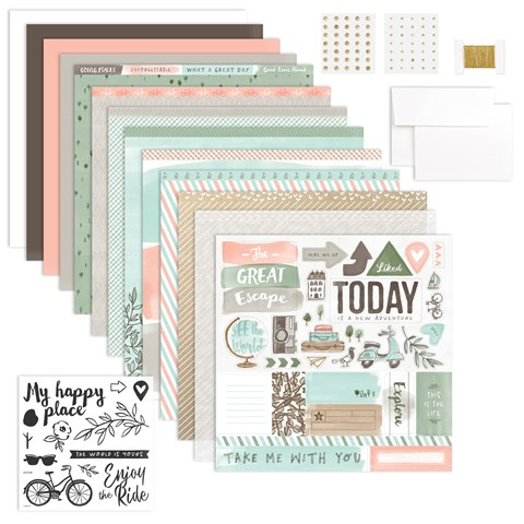 The World Is Yours Cardmaking Workshop Kit (CC5199)