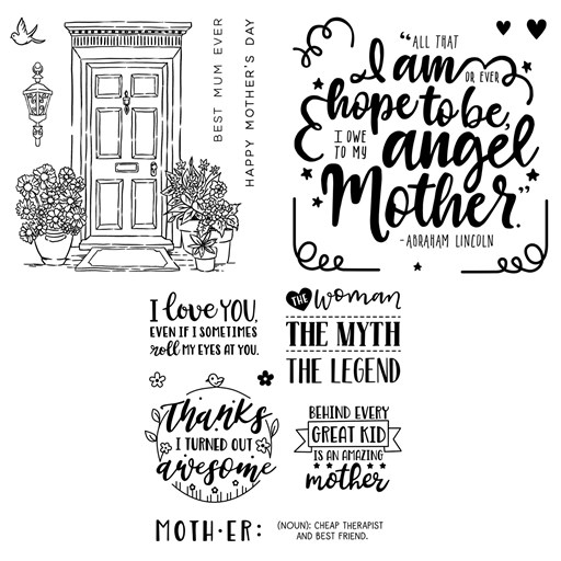 Love for Mother Stamp Bundle (CC42016E)