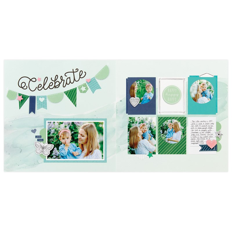 Every Little Thing Cut Above® Layout Kit - project 1