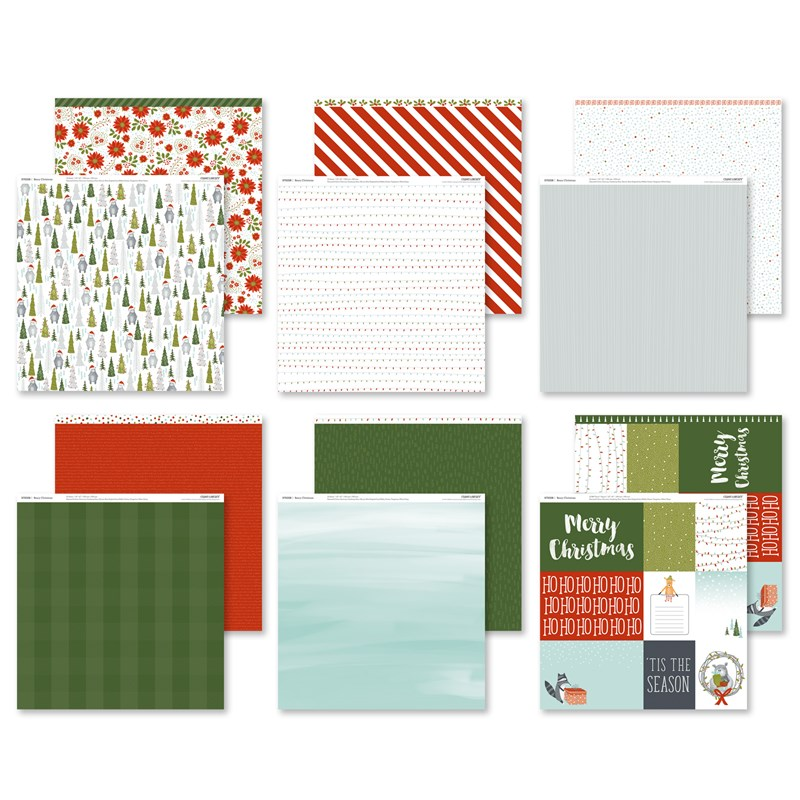 Beary Christmas October's Featured Paper