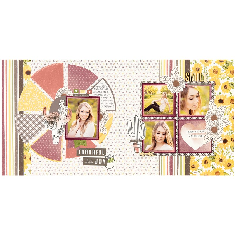 Bloom with Grace Scrapbooking Workshop Kit