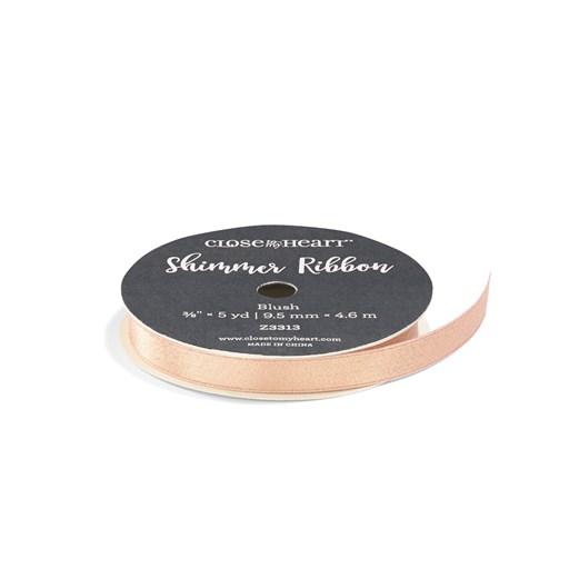 Blush Shimmer Ribbon (Z3313)