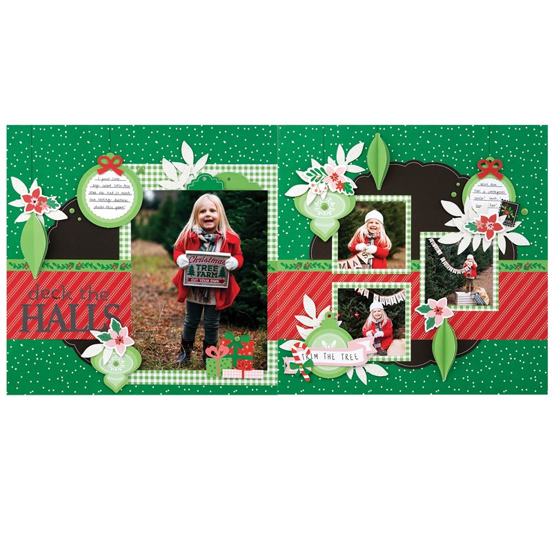 Holly Jolly Scrapbooking Workshop Kit