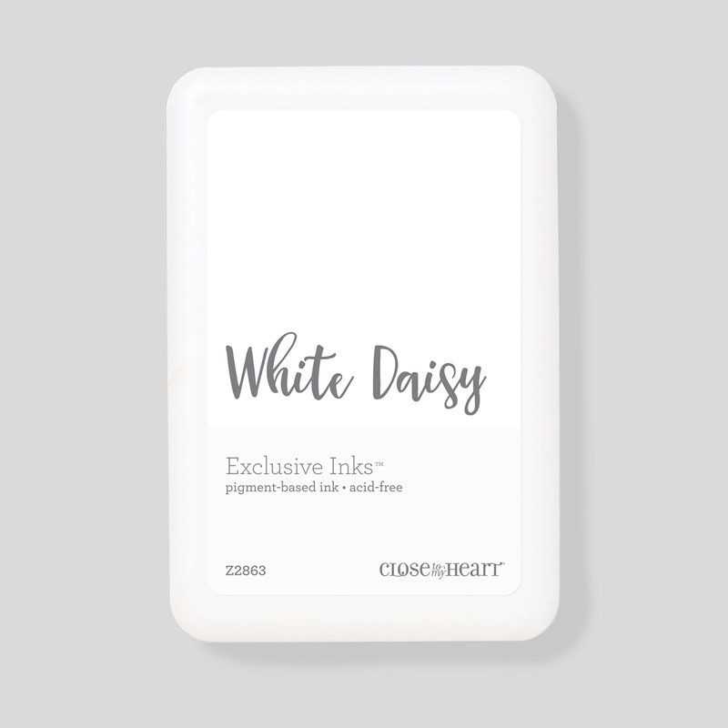 White Daisy Exclusive Inks™ Pigment Pad