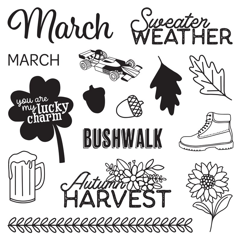 Months of the Year—March