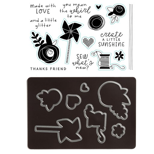 Craft On—Cardmaking Stamp + Thin Cuts (Z4069)