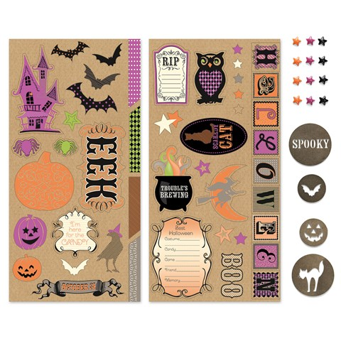 Scaredy Cat Embellishments Bundle (CC1327)