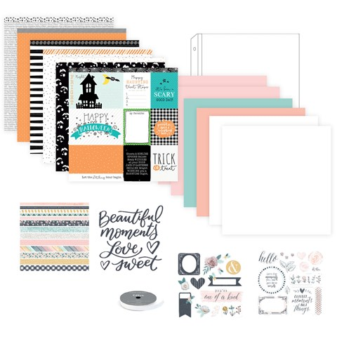 Hello Pumpkin Deluxe Scrapbooking Workshop Kit (CC11183)
