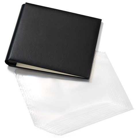 Black My Legacy™ Post Bound Album + Memory Protectors™ (CC1448)
