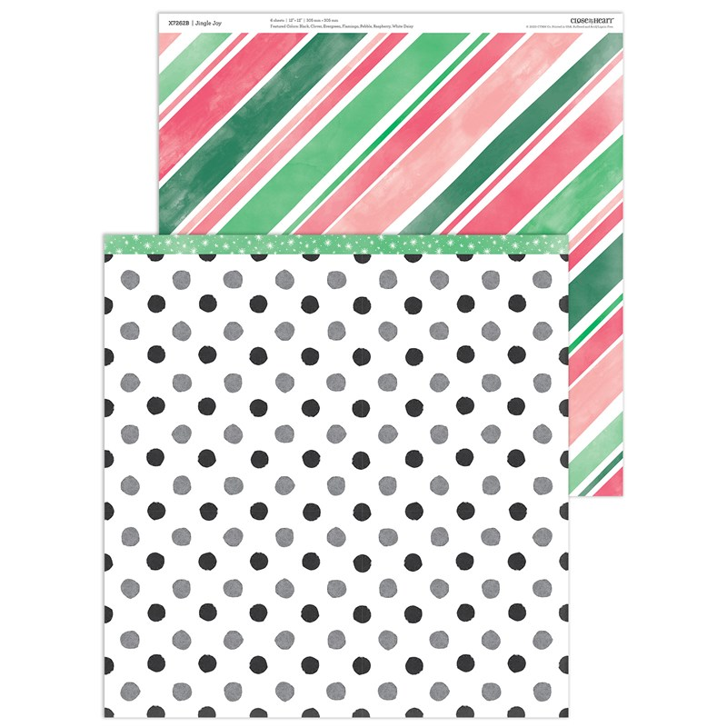 Jingle Joy Paper Packet + Sticker Sheet