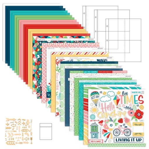 "Blue Skies 6"" x 8"" Scrapbooking Workshop Kit (CC5211)"