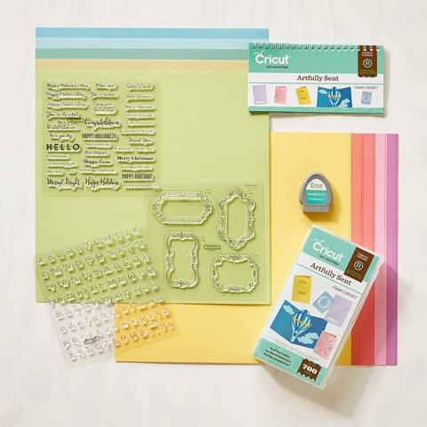 Cricut® Artfully Sent Collection (physical cartridge) (Z3168)