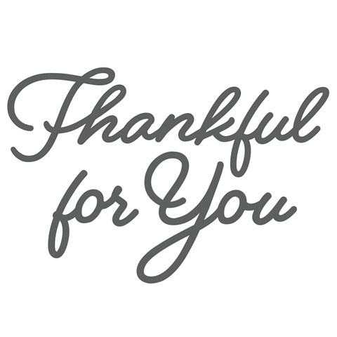 Thin Cuts—Thankful for You (Z4036)